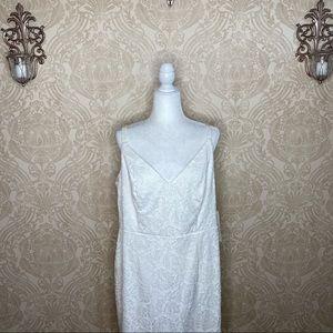 Emerald Sundae Lace Overlay Bodycon Mini Dress NWT